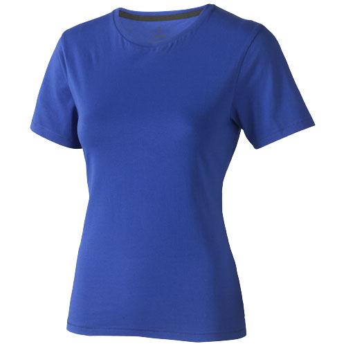 Nanaimo short sleeve women's T-shirt in blue
