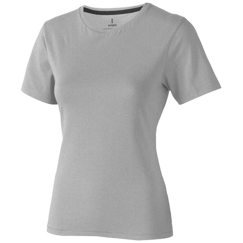 Nanaimo short sleeve women's T-shirt in grey-melange