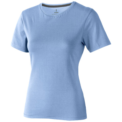 Nanaimo short sleeve women's T-shirt in light-blue