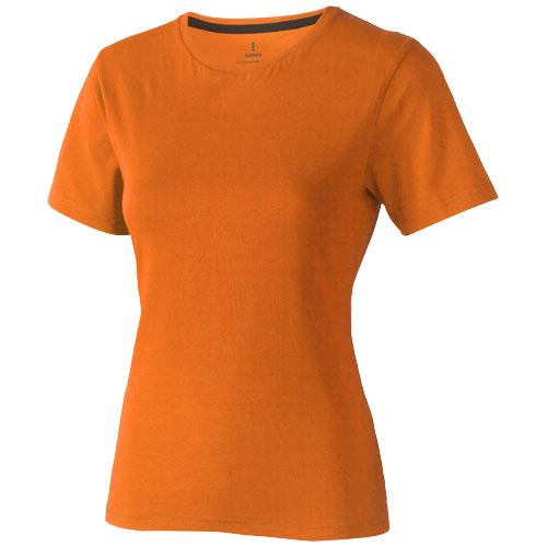 Nanaimo short sleeve women's T-shirt in orange