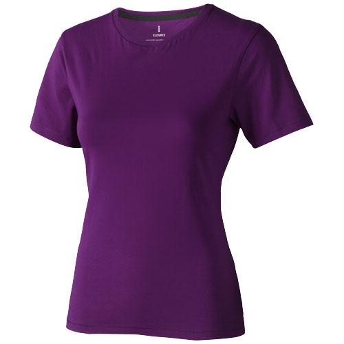 Nanaimo short sleeve women's T-shirt in plum