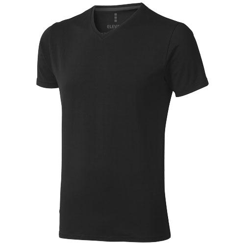 Kawartha short sleeve men's organic t-shirt in black-solid