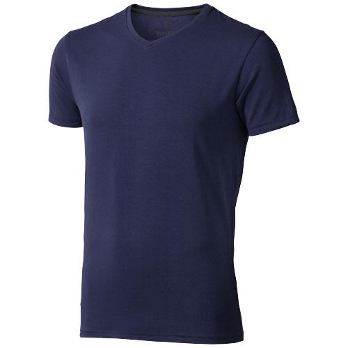 Kawartha short sleeve men's organic t-shirt in navy