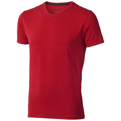 Kawartha short sleeve men's organic t-shirt in red