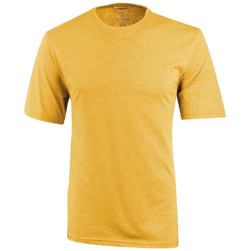 Sarek short sleeve T-shirt in amber-heather