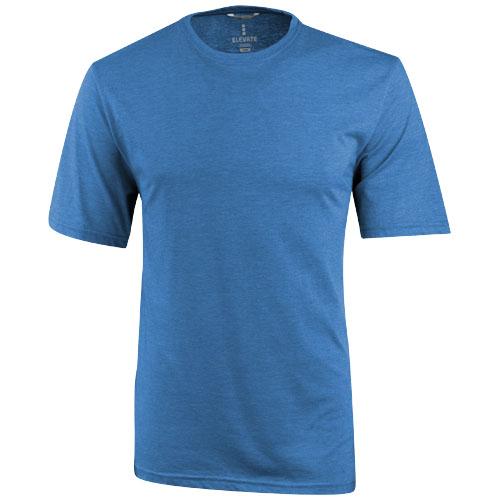 Sarek short sleeve T-shirt in heather-blue