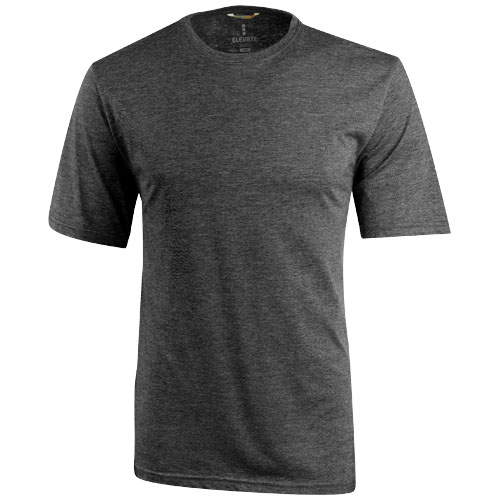 Sarek short sleeve T-shirt in heather-charcoal