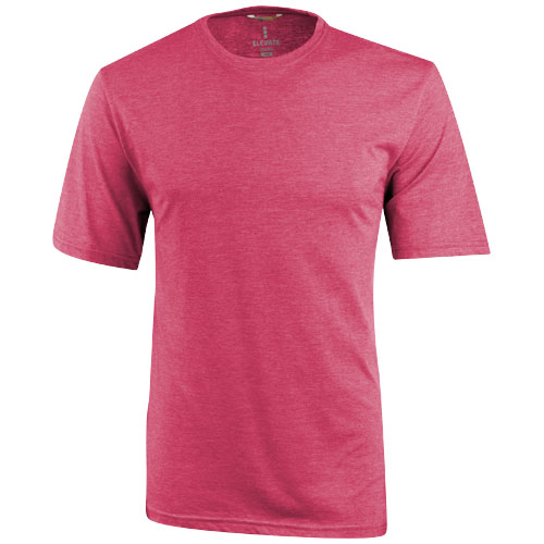 Sarek short sleeve T-shirt in heather-red