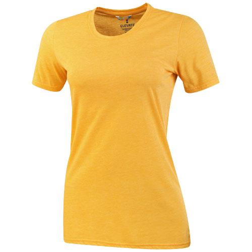 Sarek short sleeve ladies T-shirt in amber-heather
