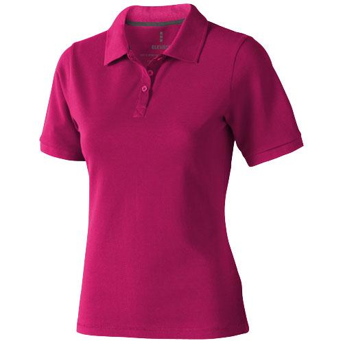 Calgary short sleeve women's polo in pink