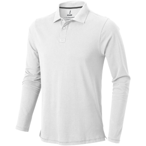 Oakville long sleeve men's polo in