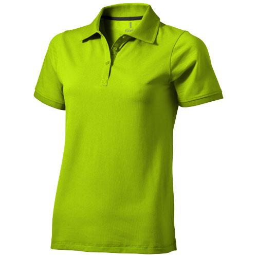 Yukon short sleeve ladies Polo in apple-green