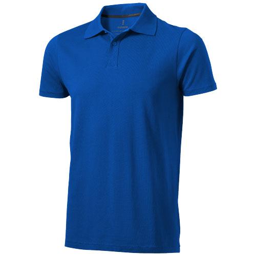 Seller short sleeve men's polo in blue