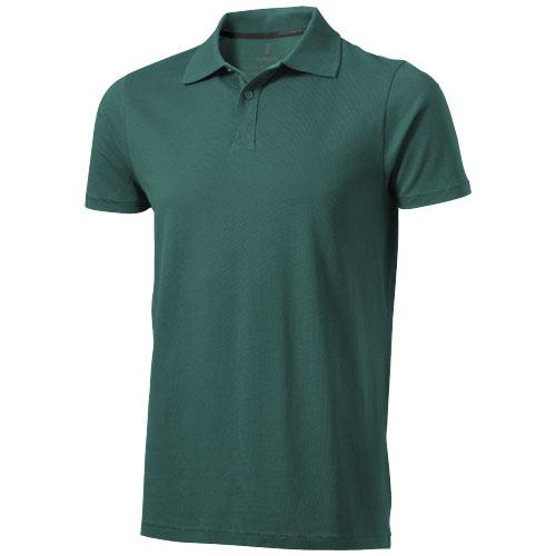 Seller short sleeve men's polo in forest-green