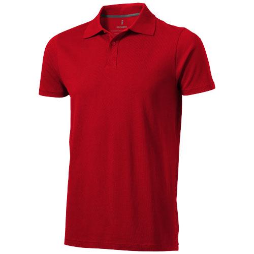 Seller short sleeve men's polo in red
