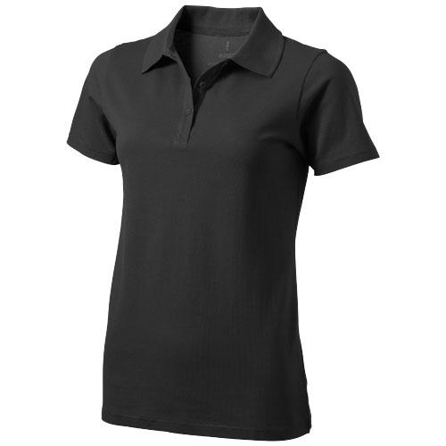 Seller short sleeve women's polo in anthracite