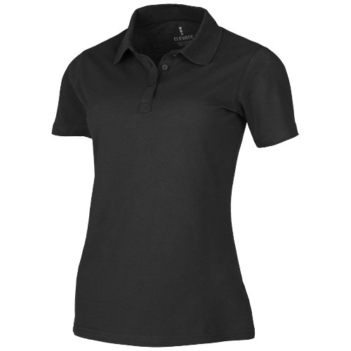 Primus short sleeve women's polo in anthracite