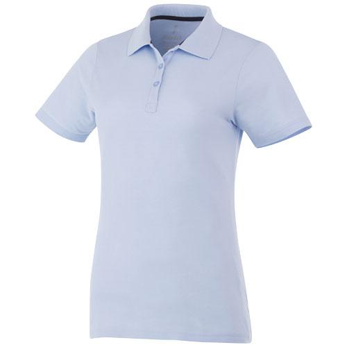 Primus short sleeve women's polo in light-blue