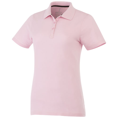 Primus short sleeve women's polo in light-pink