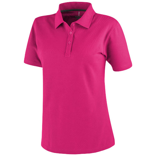 Primus short sleeve women's polo in pink
