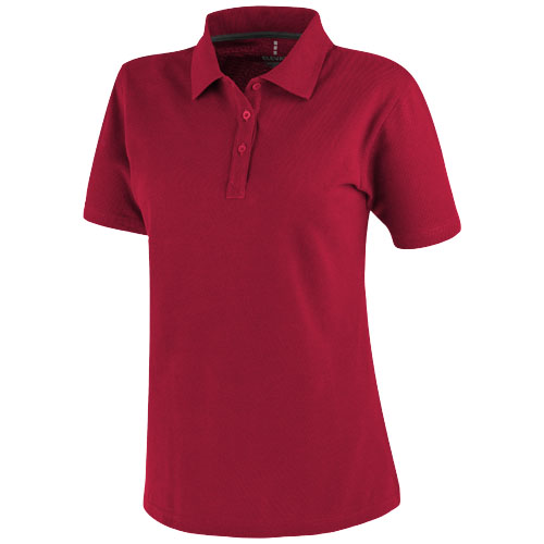 Primus short sleeve women's polo in red