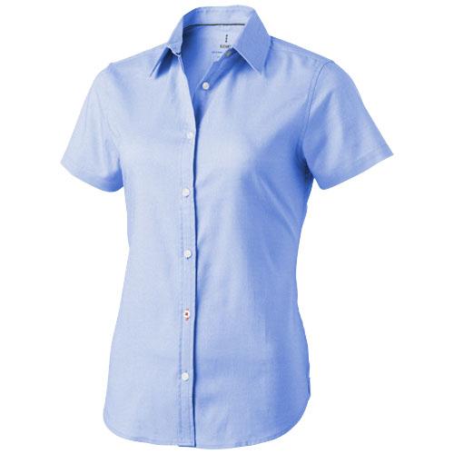 Manitoba short sleeve ladies Shirt in light-blue