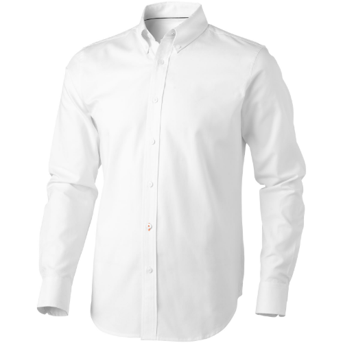 Vaillant long sleeve Shirt in white-solid