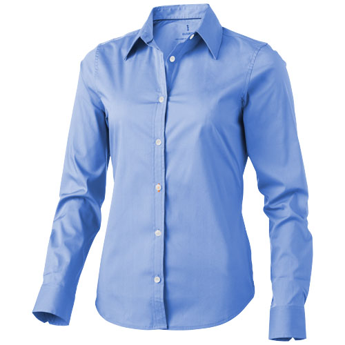 Hamilton long sleeve ladies Shirt in light-blue