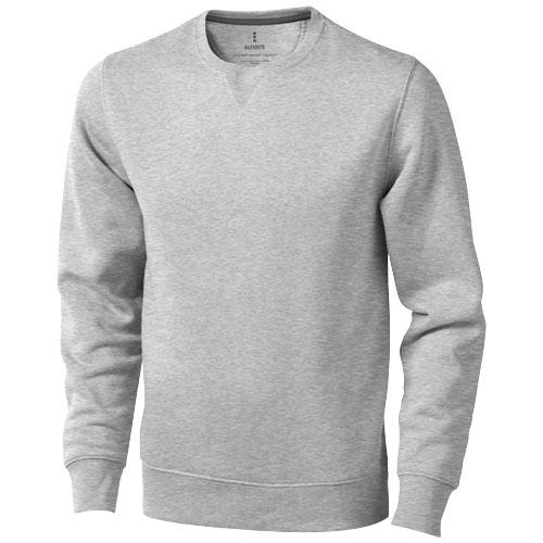 Surrey crew Sweater in grey-melange