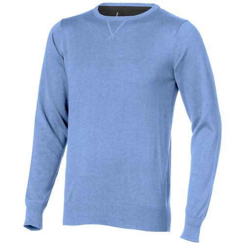 Fernie crewneck pullover in light-blue