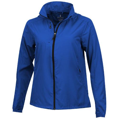 Flint lightweight ladies jacket in blue