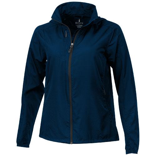 Flint lightweight ladies jacket in navy
