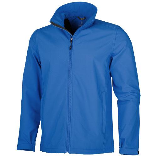 Maxson softshell jacket in blue