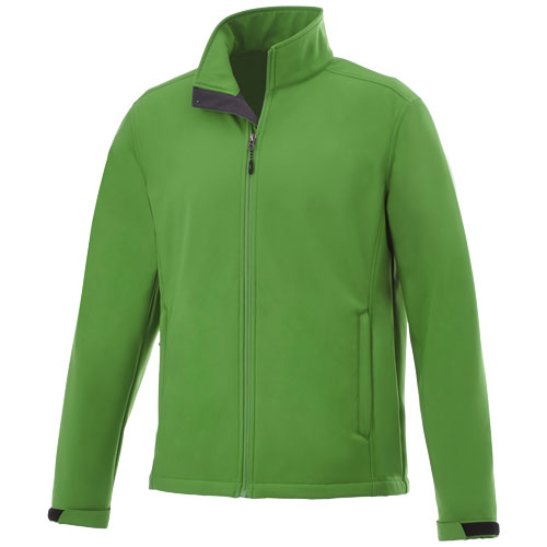 Maxson softshell jacket in fern-green