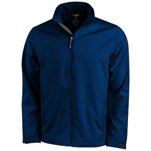 Maxson softshell jacket in navy