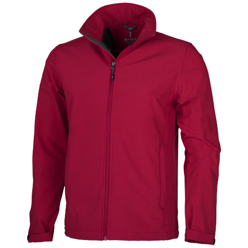 Maxson softshell jacket in red