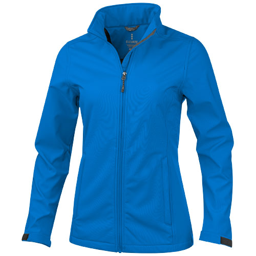 Maxson softshell ladies jacket in blue