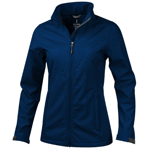 Maxson softshell ladies jacket in navy