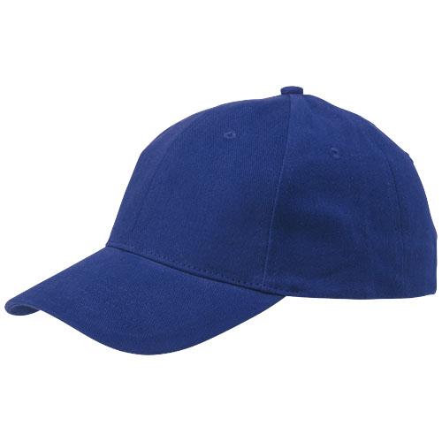 Bryson 6 panel cap in blue