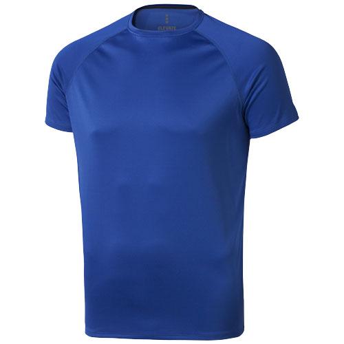 Niagara short sleeve men's cool fit t-shirt in blue
