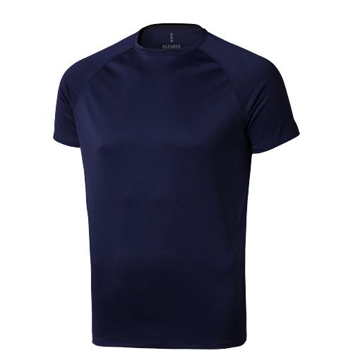 Niagara short sleeve men's cool fit t-shirt in navy
