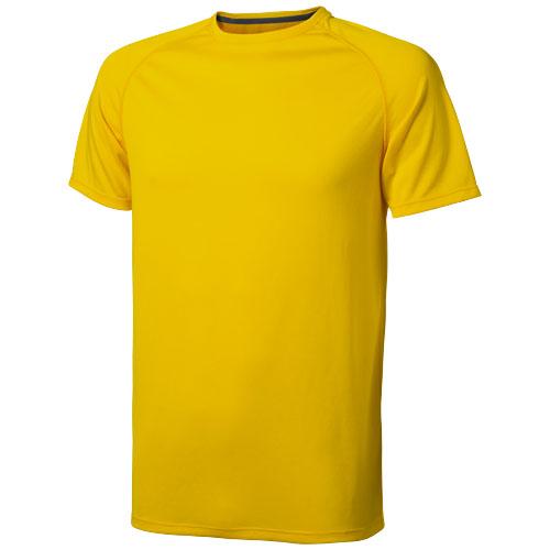 Niagara short sleeve men's cool fit t-shirt in yellow