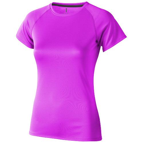 Niagara short sleeve women's cool fit t-shirt in neon-pink