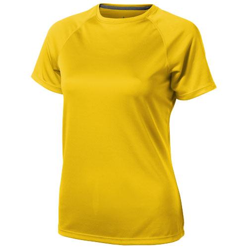 Niagara short sleeve women's cool fit t-shirt in yellow