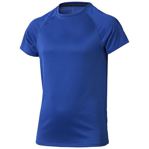 Niagara short sleeve kids cool fit t-shirt in blue