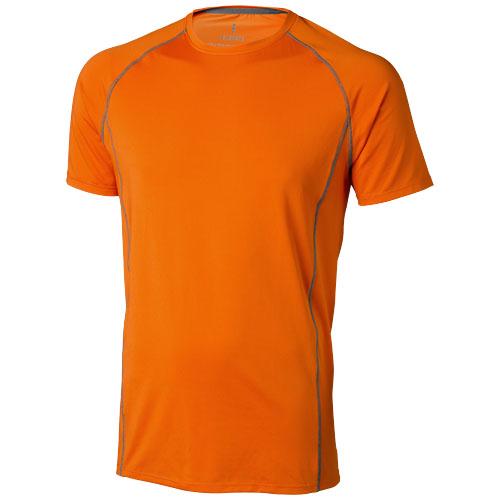 Kingston short sleeve men's cool fit t-shirt in orange