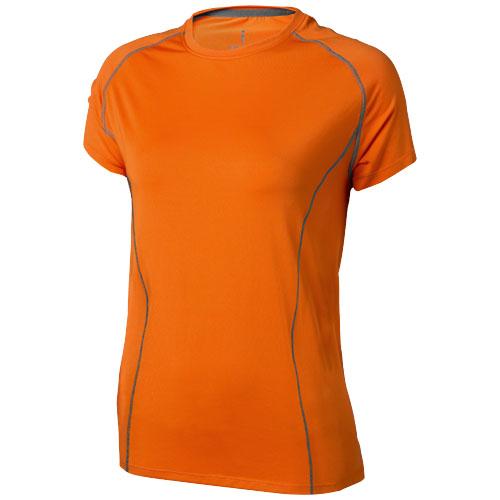 Kingston short sleeve women's cool fit t-shirt in orange