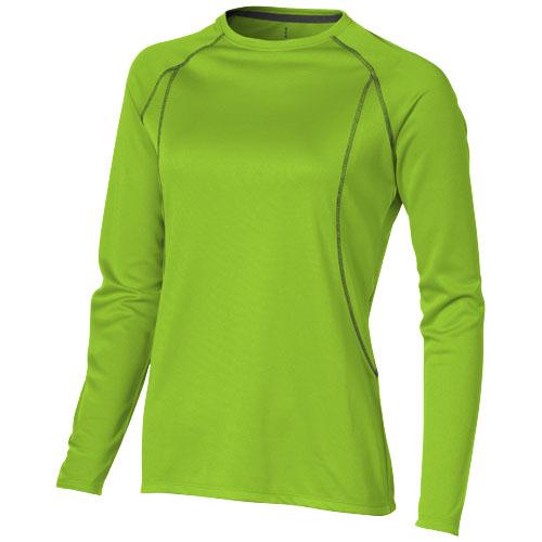 Whistler long sleeve T-shirt in apple-green