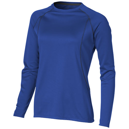 Whistler long sleeve T-shirt in blue