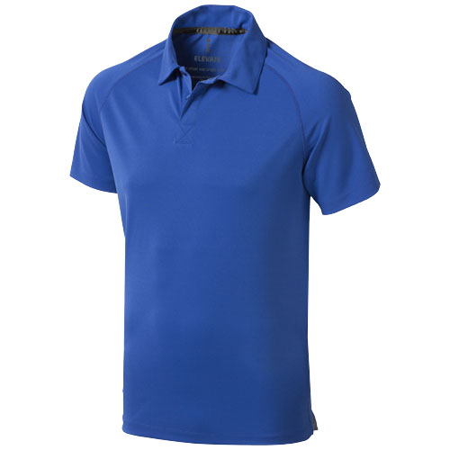 Ottawa short sleeve men's cool fit polo in blue